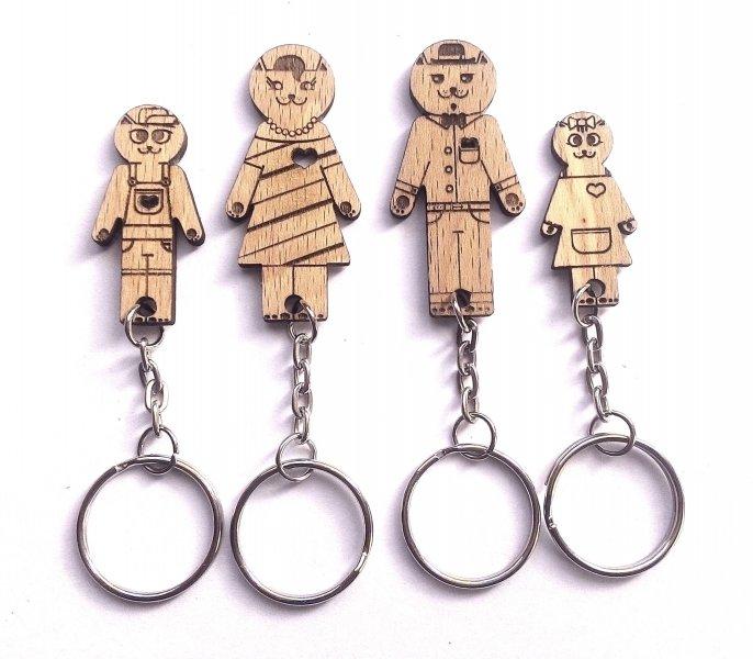 Domeček na klíče pro čtyři