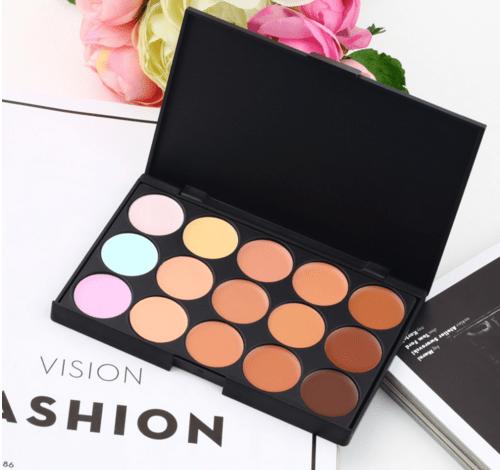 Make-up paleta korektorů - 15 barev