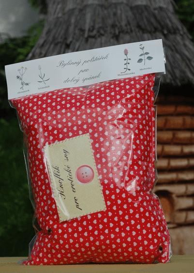 Pohankovo - bylinkový polštářek pro dobrý spánek