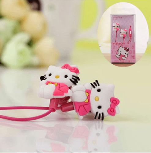 Sluchátka Hello Kitty