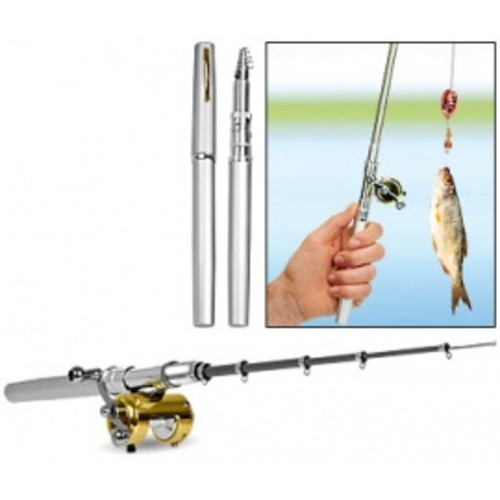Teleskopický mini rybářský prut